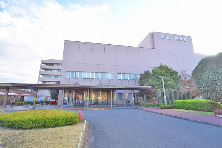 関東中央病院 距離450m