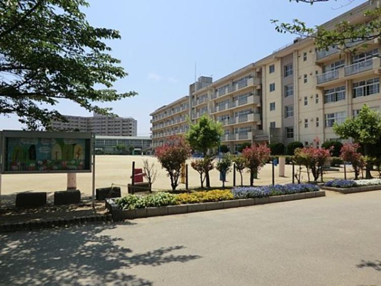 松戸市立横須賀小学校 650m