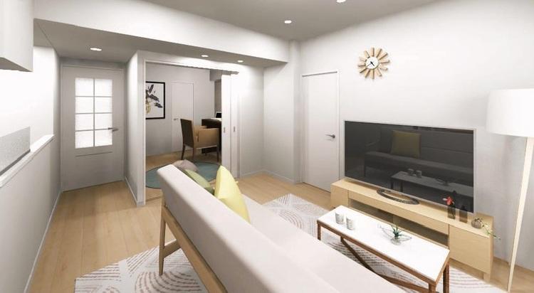 LDKに隣接する洋室3には引き戸を採用。書斎や子ども部屋等ライフスタイルに合わせて様々な使い方が可能です
