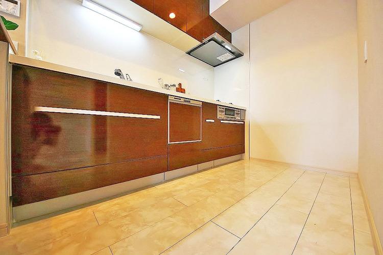 独立性の高いキッチンなので、匂いを気にせずお料理できます
