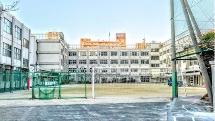 品川区立東海中学校まで675m 東海中学校の教育目標  思いやる心  自ら学ぶ姿勢  最後までやりぬく力