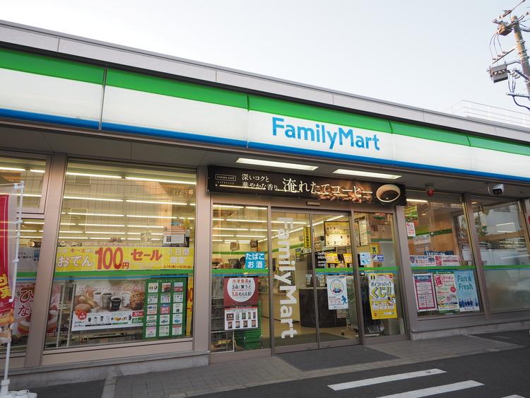 ファミリーマート東新町二丁目店 距離138m