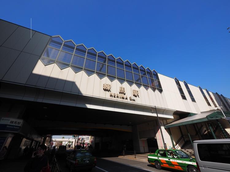 西武池袋線 練馬駅まで882m