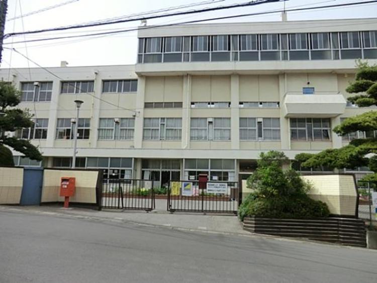 川口市立差間小学校400m