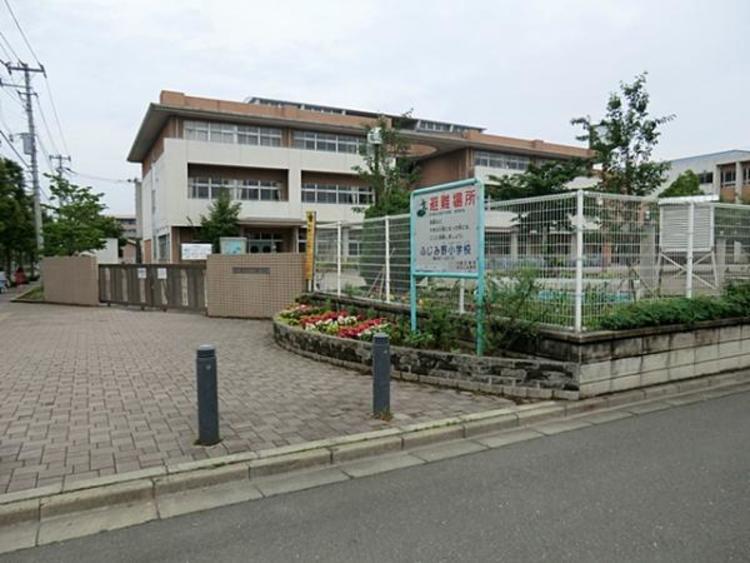 富士見市立ふじみ野小学校1000m