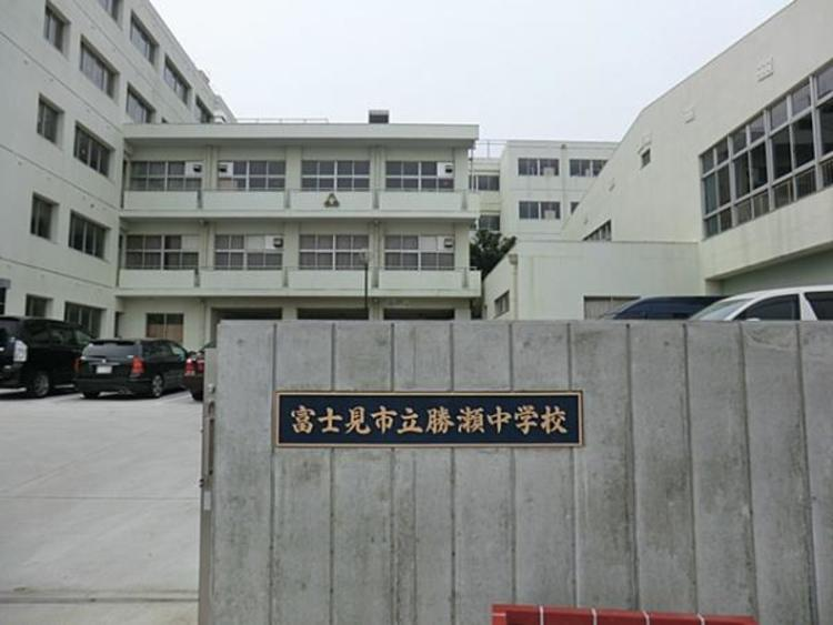 富士見市立勝瀬中学校2400m