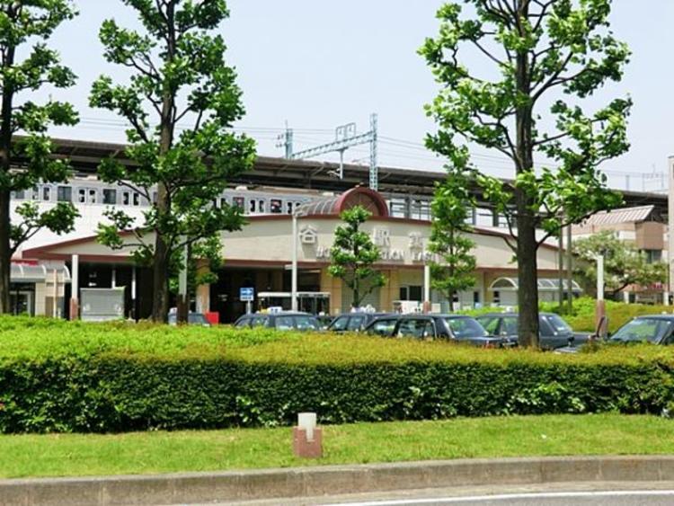 東武鉄道谷塚駅720m