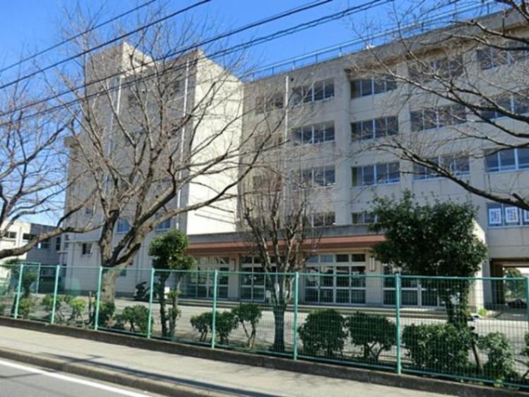 松戸市立和名ケ谷中学校750m