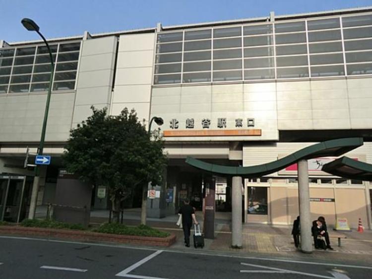 東武鉄道北越谷駅 5274m