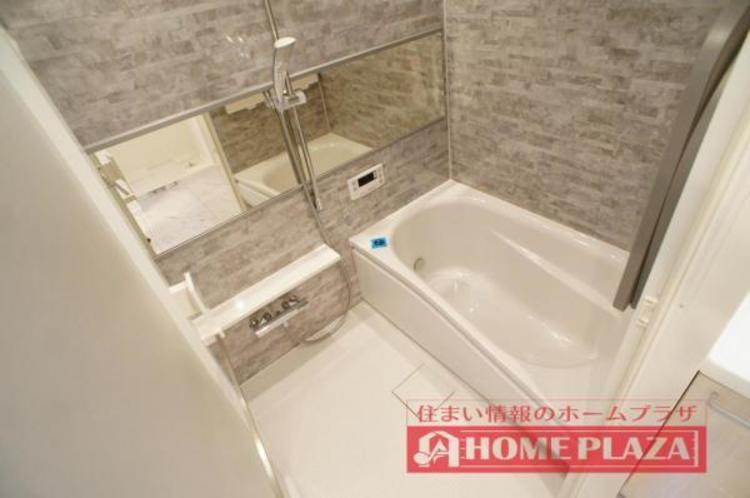ゆったり足を延ばして入れる大きさの浴槽を採用!リラックスしたバスタイムをお楽しみいただけます