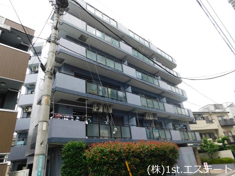 京浜東北線「西川口」駅から徒歩4分 6階建3階部分 南西向き角部屋