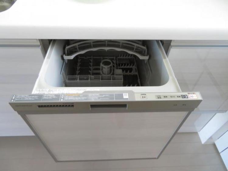 食洗機付きで家事がはかどりますね