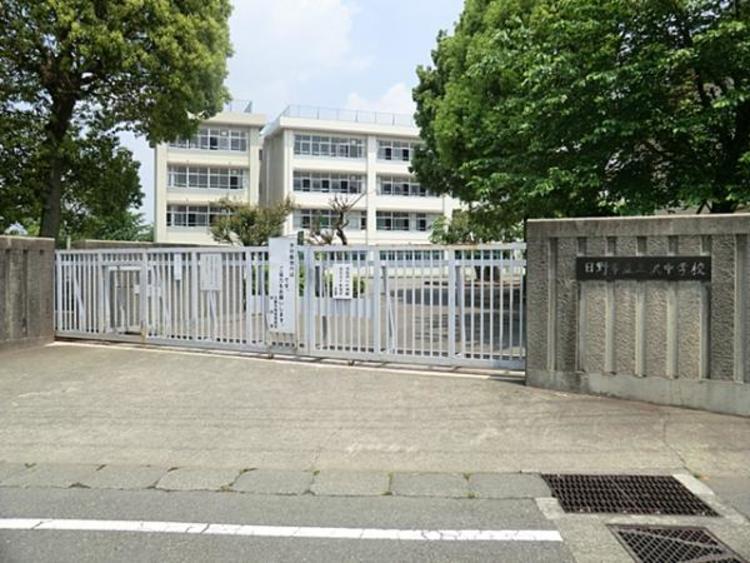 三沢中学校 910m