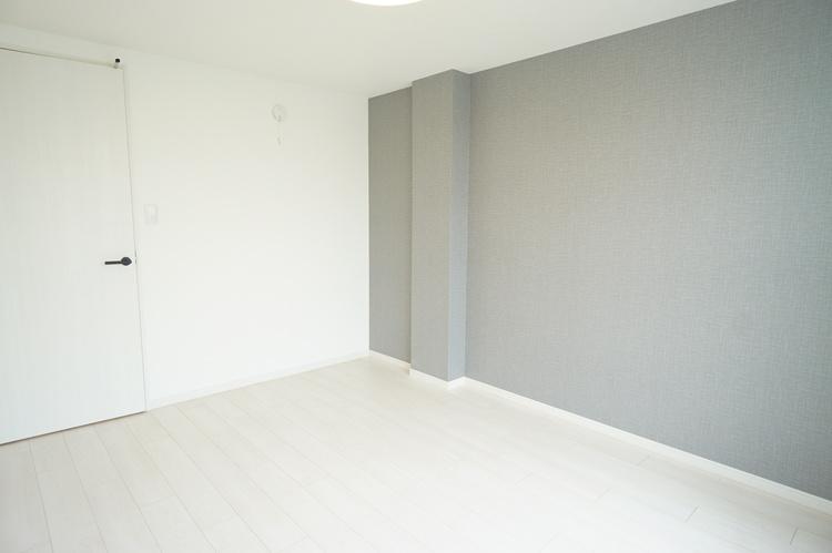 アクセントクロスもお部屋を彩ってくれます。
