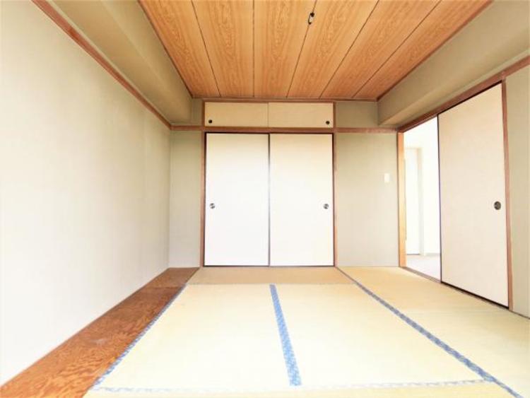 和室には板張りがあり家具なども置けます。