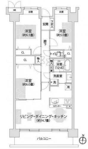メイツ新横浜の物件画像