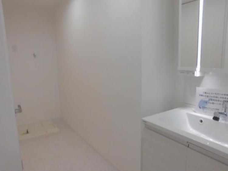 ●ゆとりある洗面スペースです!