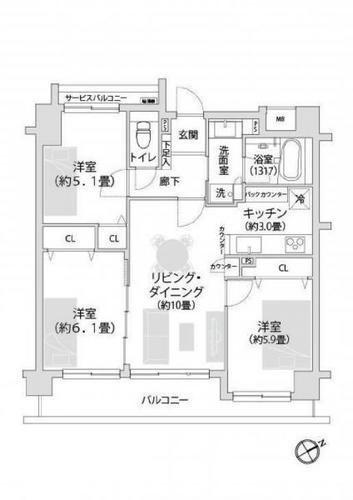 青葉・市ヶ尾ガーデンハウスの物件画像