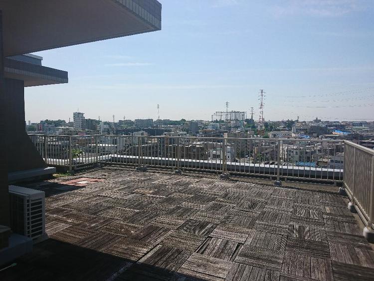 高台につき眺望良好、晴天には富士山も望めます!