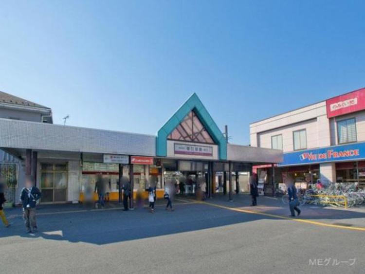 東武鉄道春日部駅800m