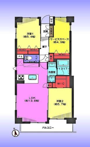 東急ドエル・アルス川口五丁目弐番館の物件画像