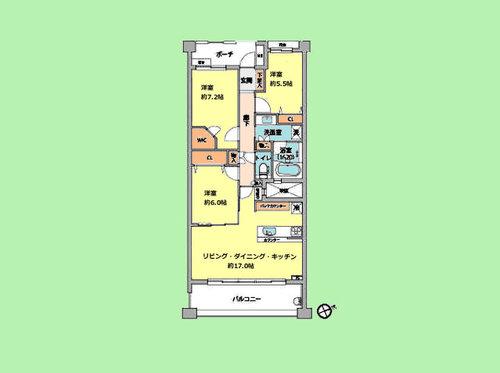 パークホームズ青葉台SIVILLAの物件画像