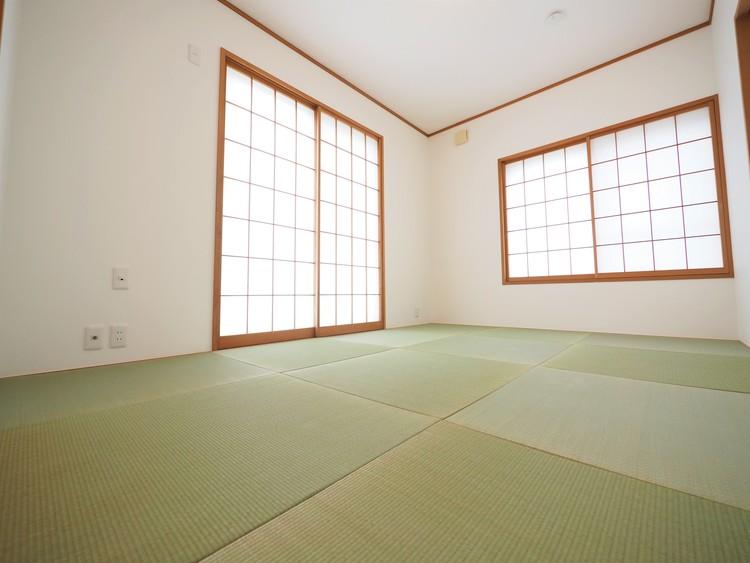 お家に一室あると嬉しい和室。多目的に活用出来る空間です。