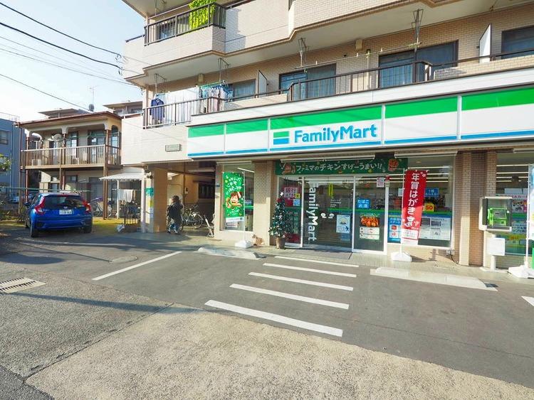 ファミリーマートふるや中野島店 距離20m