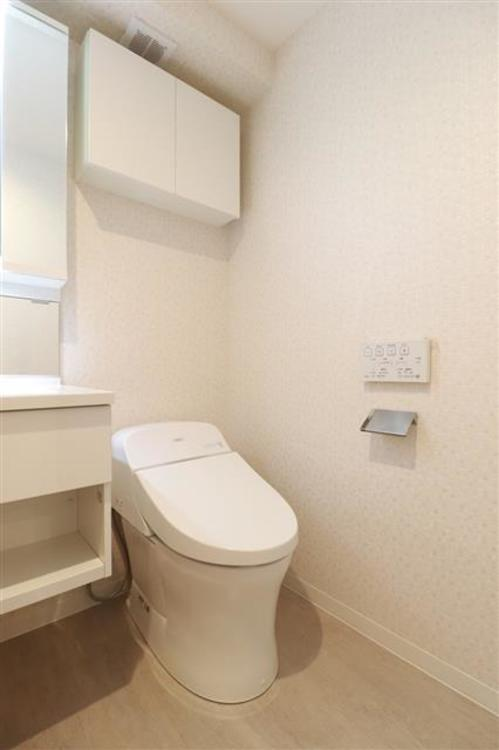 気になるトイレも、ウォシュレット付トイレに新規交換済み。