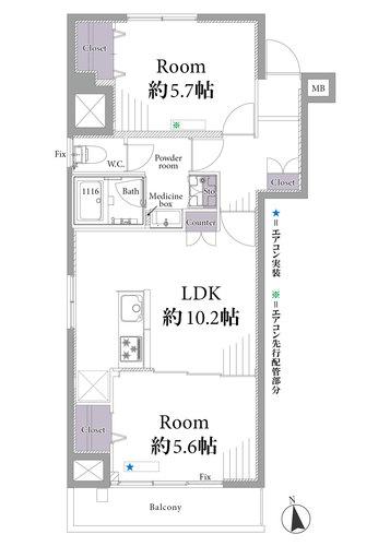 江古田スカイマンション(805)の物件画像