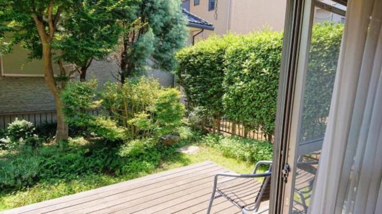 ●味噌り豊かなお庭付き!テラスでティータイムも楽しめますね!