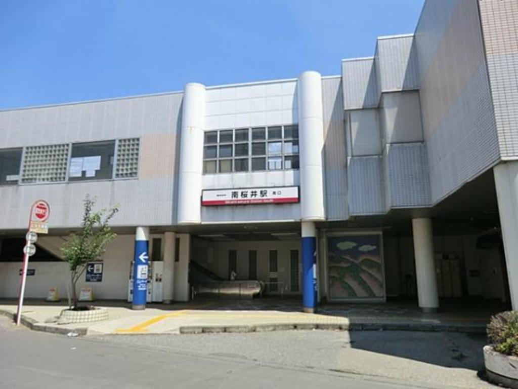 東武鉄道南桜井駅2400m