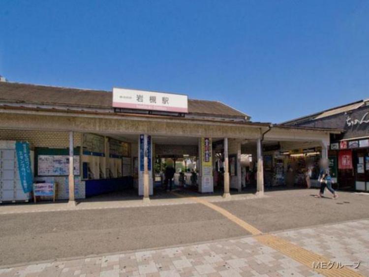 東武鉄道岩槻駅 1800m