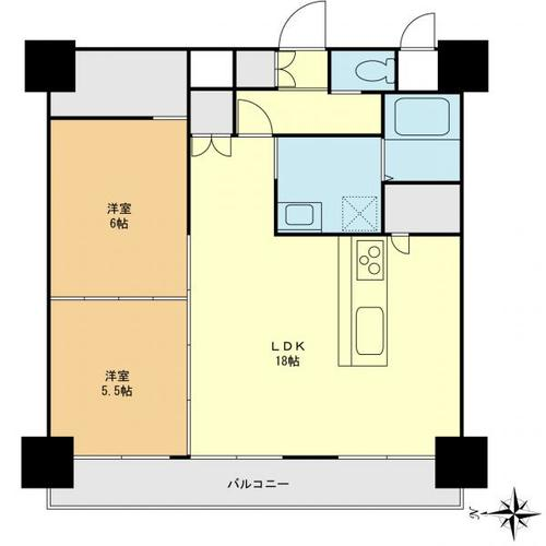 竹の塚マンションの物件画像