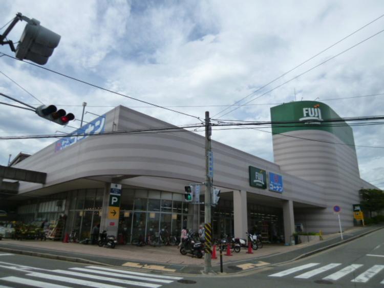 フジスーパー 上野川店 距離400m