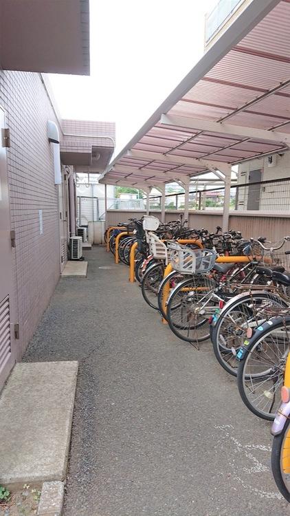 駐輪場が2台まで無料です!