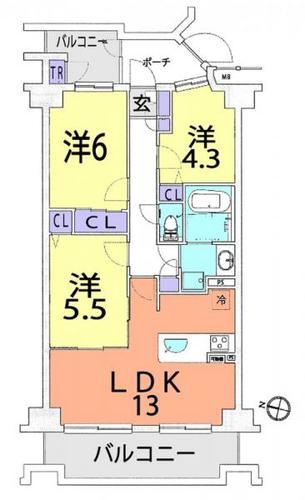 ヒューマンスクエア武蔵浦和の物件画像