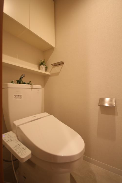 ウォシュレット付きのトイレに新規交換しました