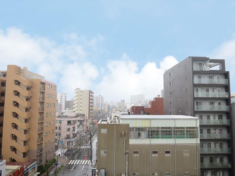 バルコニーからは、東京スカイツリーや夏の風物詩である隅田川の花火がご覧いただけます