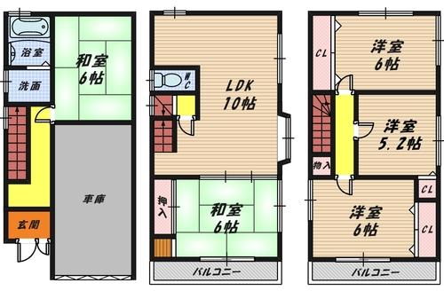 堺市西区浜寺船尾町西2丁 中古戸建の画像
