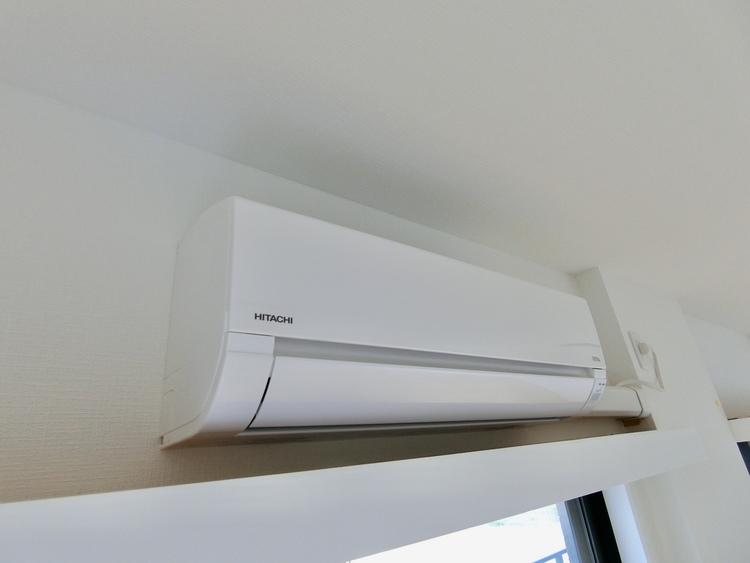 エアコン設置済