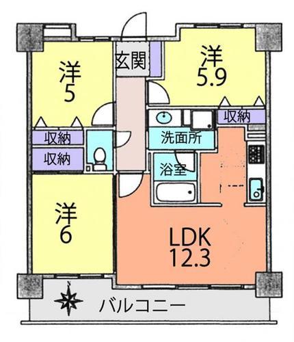 チサンロイヤルステーション天王台の画像