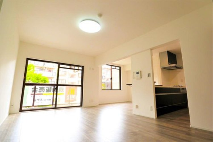 LDKはキッチンから見渡せるので家事をしながら家族との会話が可能。