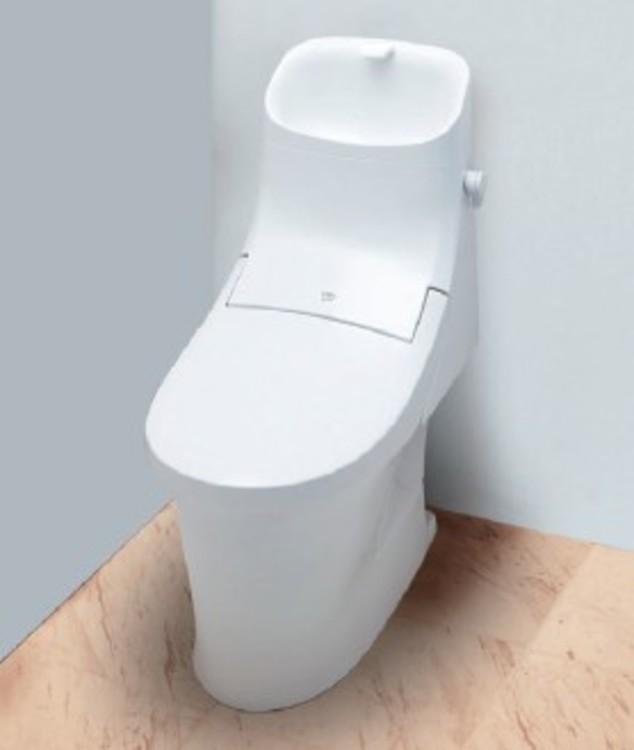 新素材「アクアセラミック」を採用したトイレ。汚れがつきにくく、新品時の白さが続きます