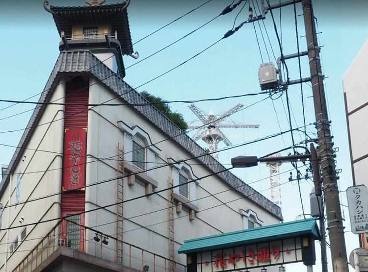 日本最古の遊園地です