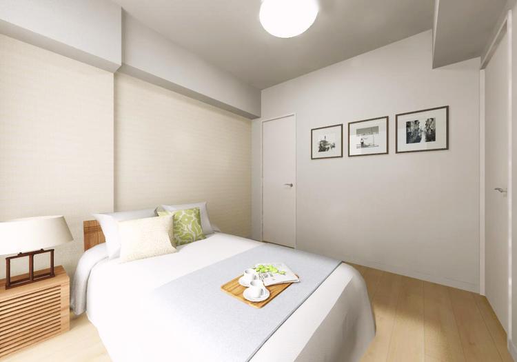 主寝室に使いたい洋室2には、整理整頓のしやすいウォークインクローゼットがついています
