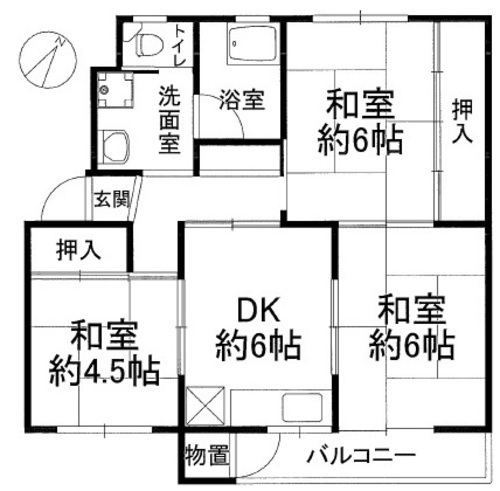 鶴甲コーポ22号館の物件画像