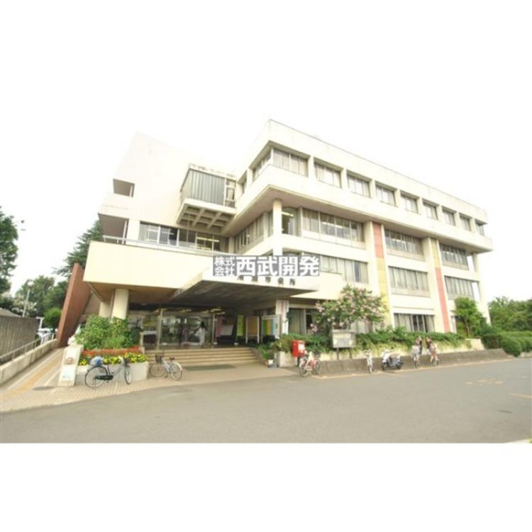 清瀬市役所(約590m)