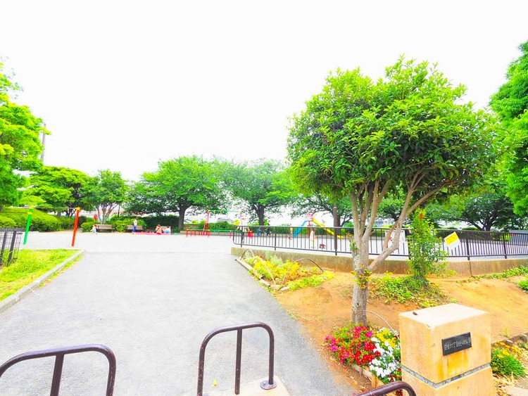 日吉六丁目鏡ヶ淵公園 距離600m