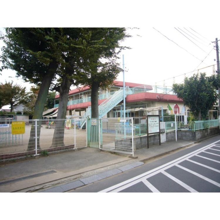西東京市立ひがし保育園保育園まで徒歩7分。子育て世帯の強い味方ですね。(約510m)